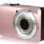 "Amkov DC110HS 3.0"" TFT LCD Screen Digital Camera with 4X Digital Zoom (Pink) Cameras Camcorders"