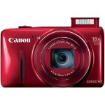Canon PowerShot SX600 HS 16MP Digital Camera (Red)