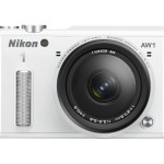 Nikon 1 AW1 14.2 MP HD Waterproof, Shockproof Digital Camera System with AW 11-27.5mm f/3.5-5.6 1 NIKKOR Lens (White)
